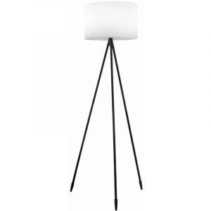 Lumisky Lampadaire sans fil TAMBOURY noir polyéthylène H150 cm