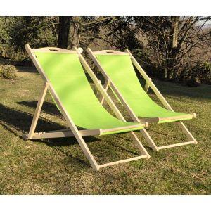 ITALIADOC Chaise chilienne en tre m if et toile 58 x 95 x H 87 cm Blanc écru