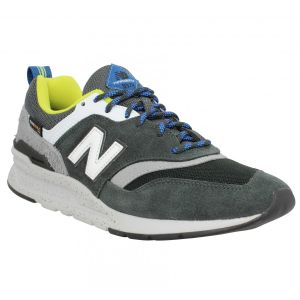 New Balance Chaussures 997 velours toile Homme Kaki vert - Taille 40,42,43,44,45,40 1/2,42 1/2,41 1/2