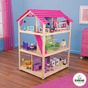 kidkraft 65078 maison de poup es so chic comparer avec. Black Bedroom Furniture Sets. Home Design Ideas