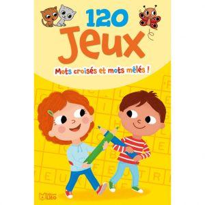 Editions Lito 120 Jeux Mots Croisés et Mêlés Bloc d'Activités 6 à 8 ans