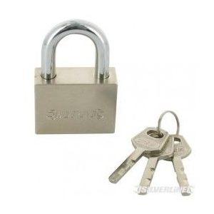 Silverline 327568 - Cadenas de sécurité 60 mm
