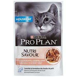 Purina Proplan Nutrisavour Chat Housecat Saumon