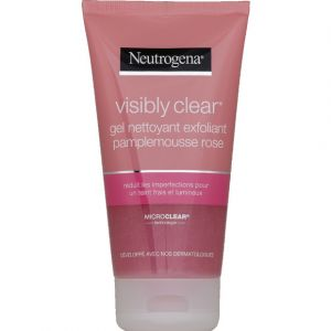 Neutrogena Visibility Clear Pamplemousse rose - Gel nettoyant exfoliant 150 ml