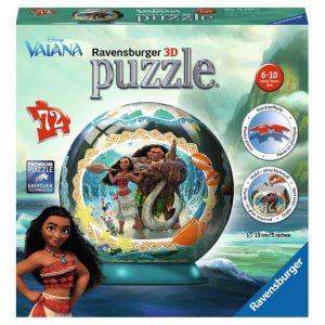Ravensburger Puzzle 72 pièces Puzzle Ball 3d - Vaiana