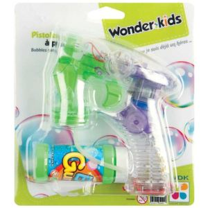 WDK Partner Pistolet à bulles de savon