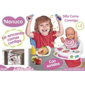 Famosa Ma première chaise haute interactive Nenuco