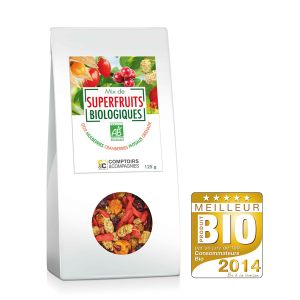 Comptoirs et Compagnies Mix de superfruits Bio - 125g