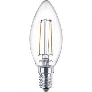 Philips Ampoule LED flamme filament E14 - 250 Lumens - 2 W