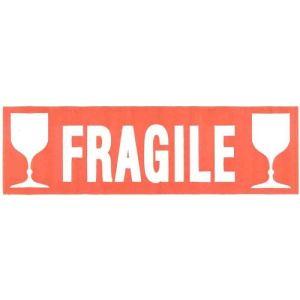 Agipa 100 étiquettes Fragile adhésives (6 x 19 cm)
