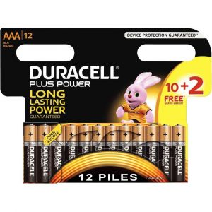 Duracell Piles et chargeur Plus Power AAA 10+2