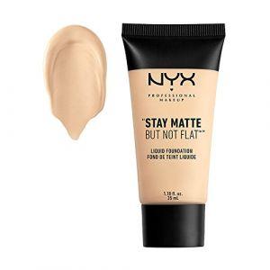 NYX Cosmetics Fond de teint liquide stay matte byt not flat