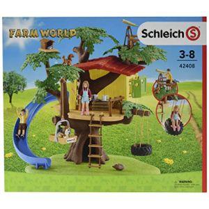 Schleich Figurine cabane aventures dans les arbres 42408