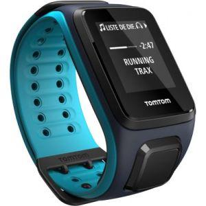TomTom Runner 2 Cardio+Music+Casque BT - Montre GPS (bracelet large)