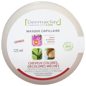 Dermaclay Masque CHEVEUX COLORES 125ml