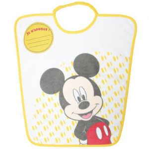 Bavoir maternelle Mickey ''Je m'appelle''