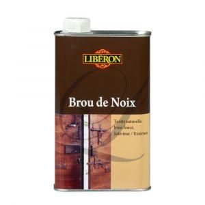 Liberon Brou de noix - 500 mL - brun foncé - Teinture pour bois