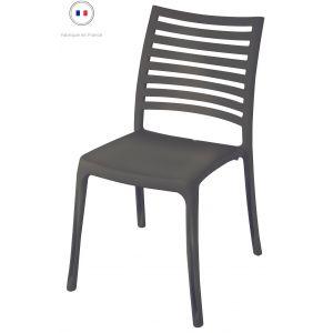 Grosfillex Chaise de Jardin Sunday Anthracite