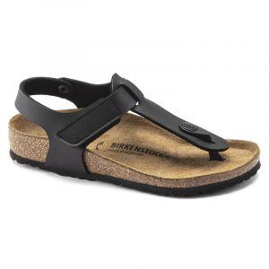 Birkenstock Kairo HL Sandals Birko-Flor Narrow Kids, black EU 34 (Narrow) Tongs