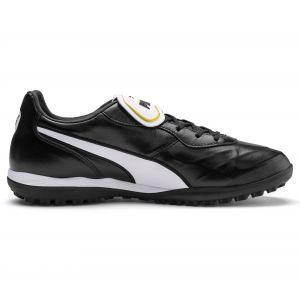Puma King Top TT, Chaussures de Football Mixte Adulte, Black White, 9.5 EU