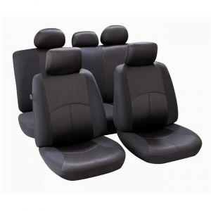 Norauto Jeu complet de housses universelles voiture spécial citadine Ningbo noires