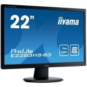"""iiyama ProLite E2283HS-B3 - Ecran LED 22"""""""