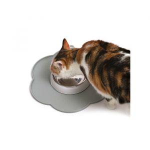 Catit Flower Placemat - Grey Medium Size pour Chat