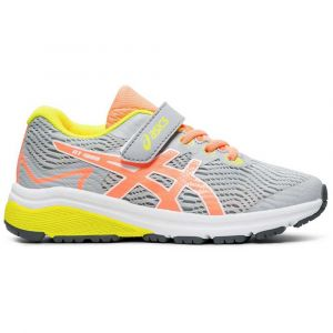 Asics Chaussures running Gt 1000 8 Ps - Piedmont Grey / Sun Coral - Taille EU 34 1/2