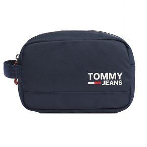 Tommy Jeans Trousse de toilette Cool City en toile bleu marine