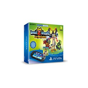 Sony PS Vita 2000 + Invizimals : La Révolte (voucher) + Carte 8 Go