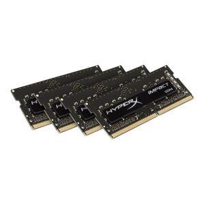Kingston HX424S15IBK4/16 - Barrette mémoire HyperX Impact DDR4 16 Go (4 x 4 Go) SO DIMM 260 broches