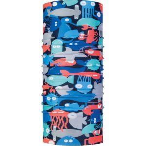 Buff Coolnet UV+ - Foulard Enfant - rouge/bleu Serviettes multifonctions