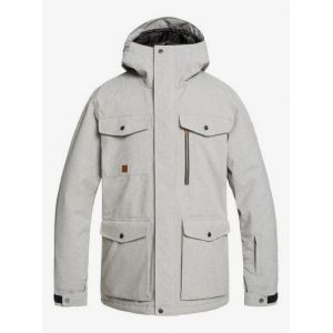 Quiksilver Vestes Raft - Light Grey Heather - Taille M