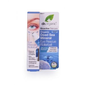 Dr. Organic Dead Sea Mineral Eye Rescue Rollerball - 15 ml