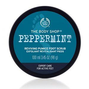 The Body Shop Exfoliant pour les pieds Menthe Poivrée