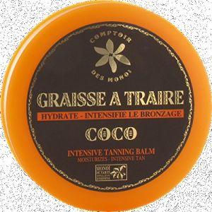 Comptoir des Monoï Graisse à traire Coco - Intensifie le bronzage