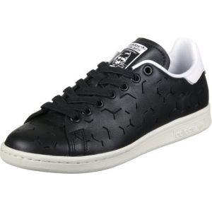Adidas Stan Smith, Baskets Femme, Noir (Core Black/Core Black/Footwear White), 37 1/3 EU