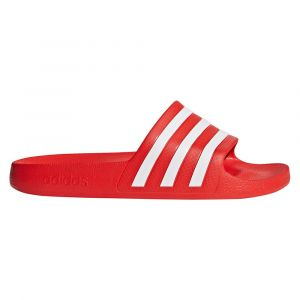 Adidas Sandales Adilette Aqua - 10 Active Red/Ftwr Whit Tongs