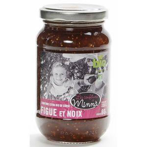 Les spécialités de minnà Confiture Figue et noix 350g