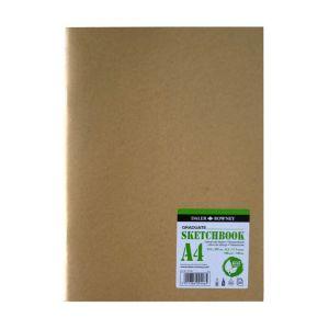 Daler Rowney Carnet de dessin Graduate Eco kraft 160 g/m² 20 feuilles