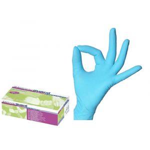 MCH 10 Boites Gants T7,5 M Nitrile Non Sterile Sans Latex-Sans Poudres