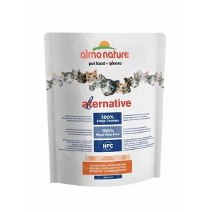 Almo Nature Alternative Chat Adulte Poulet et Riz 2 kg