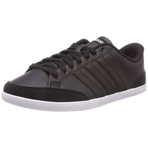 Adidas Caflaire, Chaussures de Tennis Homme, Multicolore (Cblack/Cblack/Ftwwht B43745), 44 2/3 EU