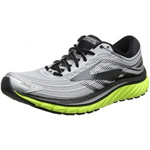 Brooks Glycerin 15, Chaussures de Running Homme, Multicolore (Silver/Black/Nightlife 1d035), 41 EU