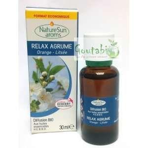 NatureSun Aroms Complexe diffusion Bio Relax Agrum