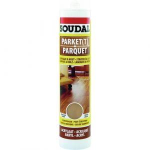 Soudal Mastic de rebouchage en acrylique pour parquet - 310 ml