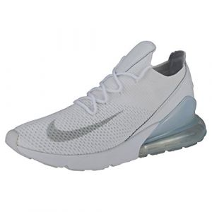 Nike Chaussure Air Max 270 Flyknit pour Homme - Blanc - Taille 45