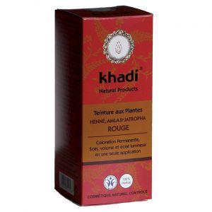 Khadi Henné, Amla & Jatropha Rouge - Teinture ayurvédique aux plantes