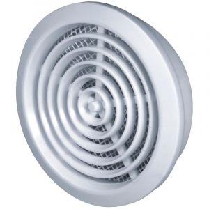 Awenta 80mm diamètre trou blanc porte ronde air évent grille boiserie meubles