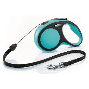 Flexi New Comfort S Cord 8 meter Bleu